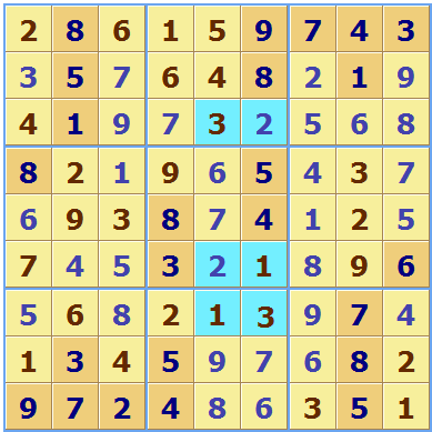 Multiple Solution Sudoku Solution 2