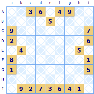 Sudoku Puzzle with large hole