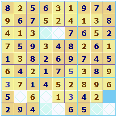 Automatic Sudoku square allocation 2