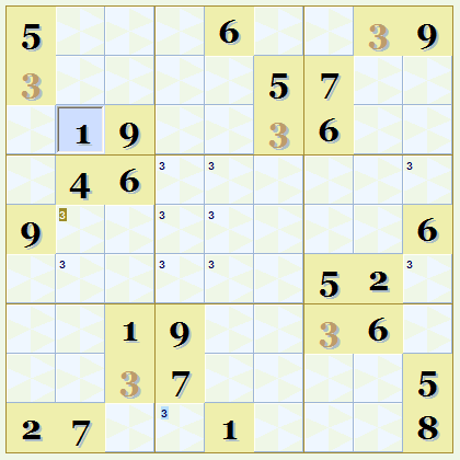 Sudoku Custom Font and Colors