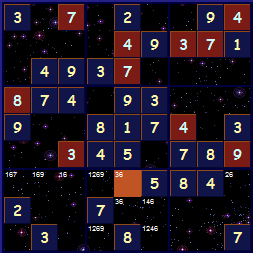 Sample Sudoku Theme Dark