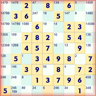 Samurai Sudoku Lower Left